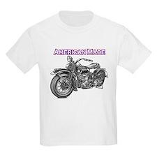 harley davidson Panhead motorcycle T-Shirt