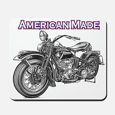 harley davidson Panhead motorcycle Mousepad