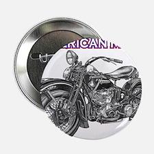 "harley davidson Panhead motorcycle 2.25"" Button"