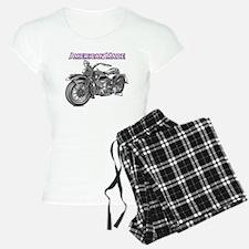 harley davidson Panhead motorcycle Pajamas