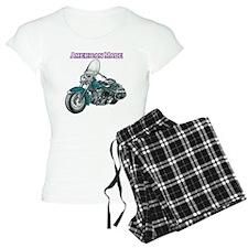 harley davidson Panhead motorcycle drawing Pajamas