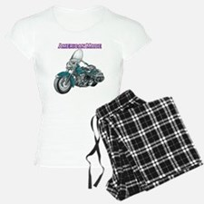 harley davidson Panhead motorcycle drawing Pajamas