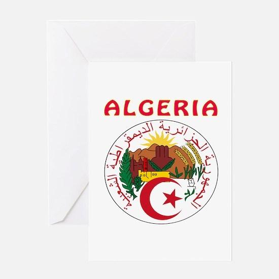 Algeria Coat of arms Greeting Card