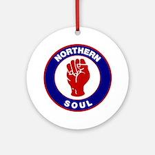 Northern Soul Retro Ornament (Round)