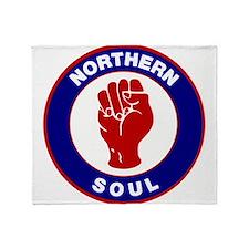 Northern Soul Retro Throw Blanket