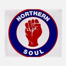 Northern Soul Retro Throw Blanket