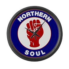 Northern Soul Retro Large Wall Clock