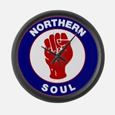 Northern Soul Retro Large Wall Clock