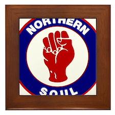 Northern Soul Retro Framed Tile