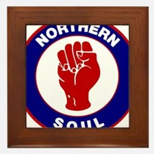 Northern Soul Retro Framed Tile
