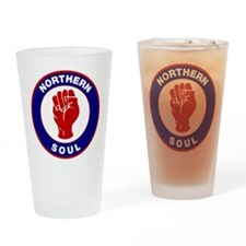 Northern Soul Retro Drinking Glass