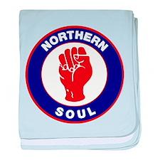 Northern Soul Retro baby blanket