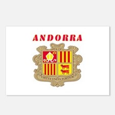 Andorra Coat of arms Postcards (Package of 8)