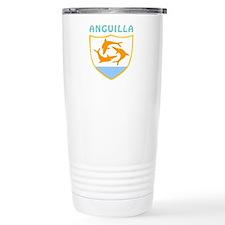 Anguilla Coat of arms Travel Mug