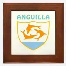 Anguilla Coat of arms Framed Tile