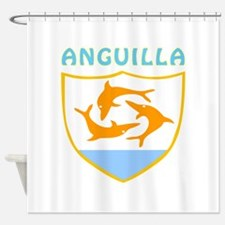Anguilla Coat of arms Shower Curtain