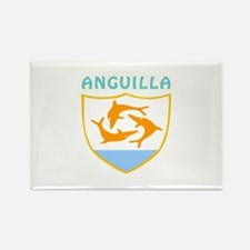 Anguilla Coat of arms Rectangle Magnet