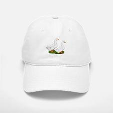 White Pekin Ducks 2 Baseball Baseball Cap