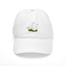 White Pekin Ducks 2 Cap
