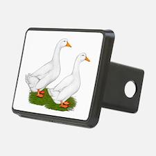 White Pekin Ducks 2 Hitch Cover