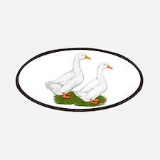 White Pekin Ducks 2 Patches