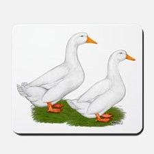 White Pekin Ducks 2 Mousepad