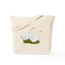 White Pekin Ducks 2 Tote Bag