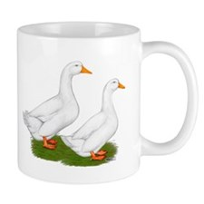 White Pekin Ducks 2 Mug