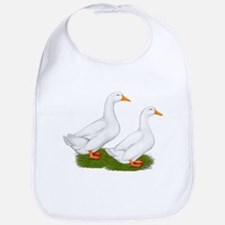 White Pekin Ducks 2 Bib