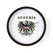 Austria Coat of arms Wall Clock