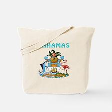 Bahamas Coat of arms Tote Bag
