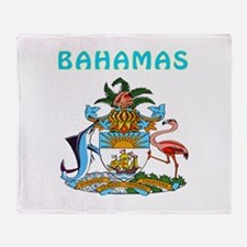 Bahamas Coat of arms Throw Blanket