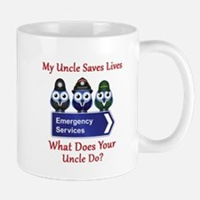 What Does Your Uncle Do? Mug