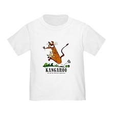 Cartoon Kangaroo by Lorenzo T-Shirt