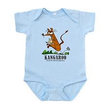Cartoon Kangaroo by Lorenzo Body Suit