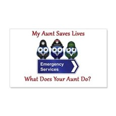 What Does Your Aunt Do? Wall Decal