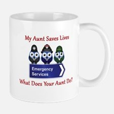 What Does Your Aunt Do? Mug