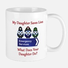 What Does Your Daughter Do? Mug