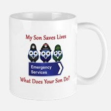What Does Your Son Do? Mug
