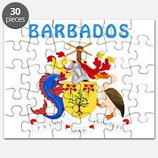 Barbados Coat of arms Puzzle