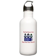 What Does Your Dad Do? Water Bottle