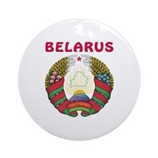 Belarus Coat of arms Ornament (Round)