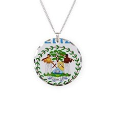 Belize Coat of arms Necklace