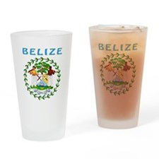 Belize Coat of arms Drinking Glass