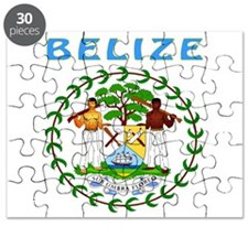 Belize Coat of arms Puzzle