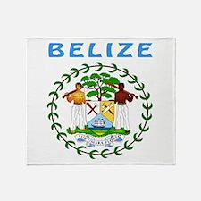 Belize Coat of arms Throw Blanket