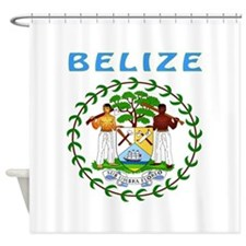 Belize Coat of arms Shower Curtain