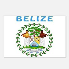 Belize Coat of arms Postcards (Package of 8)