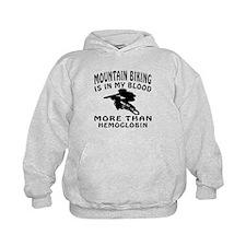 Mountain Biking Designs Hoodie