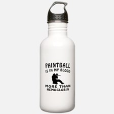 Paintball Designs Water Bottle
